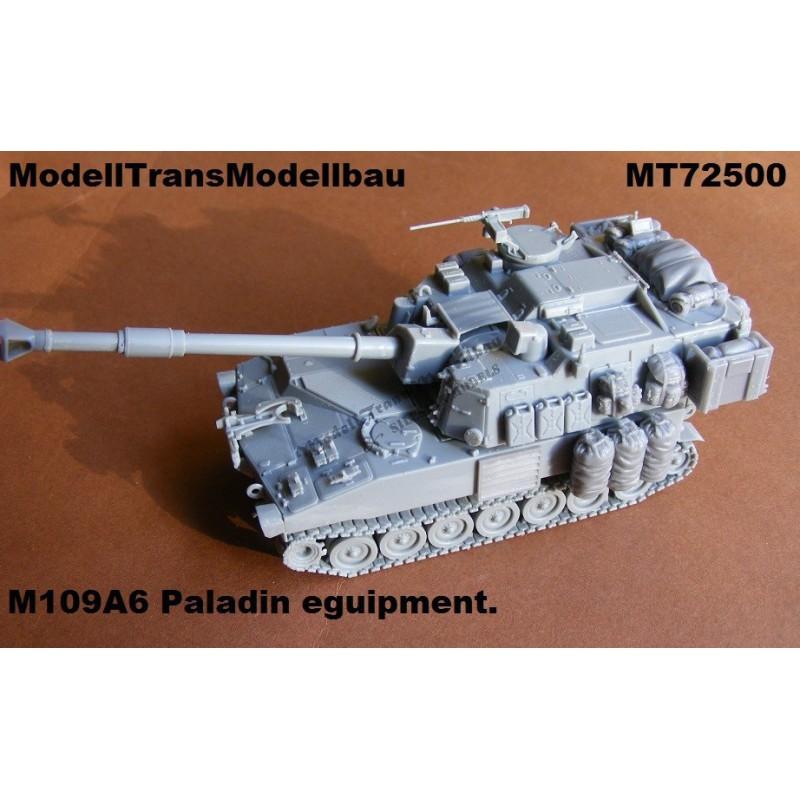 M109A6 Paladin. Equipment.