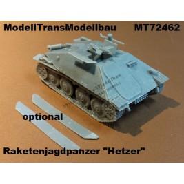 """Raketenjagdpanzer """"Hetzer"""" with XR-7 """"Rotkäpchen"""". Panzerwaffe`46"""