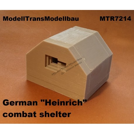 "German ""Heinrich"" combat shelter"