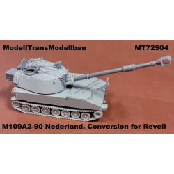 M109A2-90 NL version. Conversion for Revell.