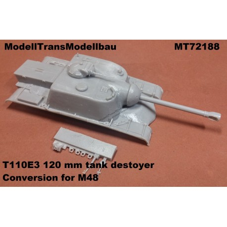 T110E3 tank destoyer. Conversion for M48.