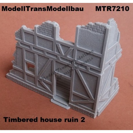 Timbered house ruin 2.