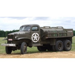 GMC CCKW353 fuel tank / citerne 750 gallons.