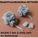 Sd.Anh.1 late & early (set) For Kettenkrad.