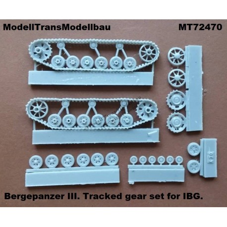 Bergepanzer III. Tracked gear set for IBG.