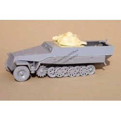 SdKfz 251 Ausf D with R-35 turret. Conversion .