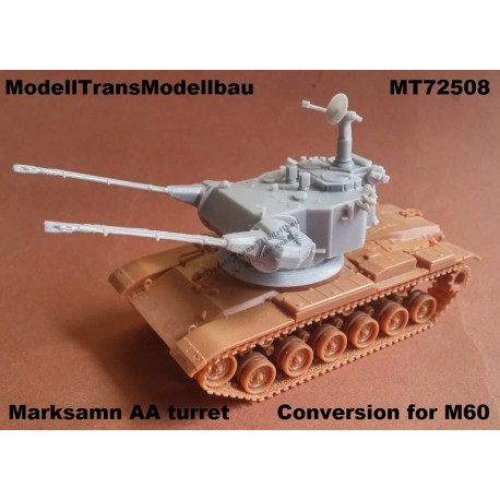 Marksamn AA turret. Conversion for M60.