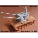 Marksman AA turret. Conversion for M60.