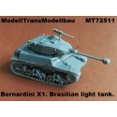 Bernardini X1. Brasilian light tank.
