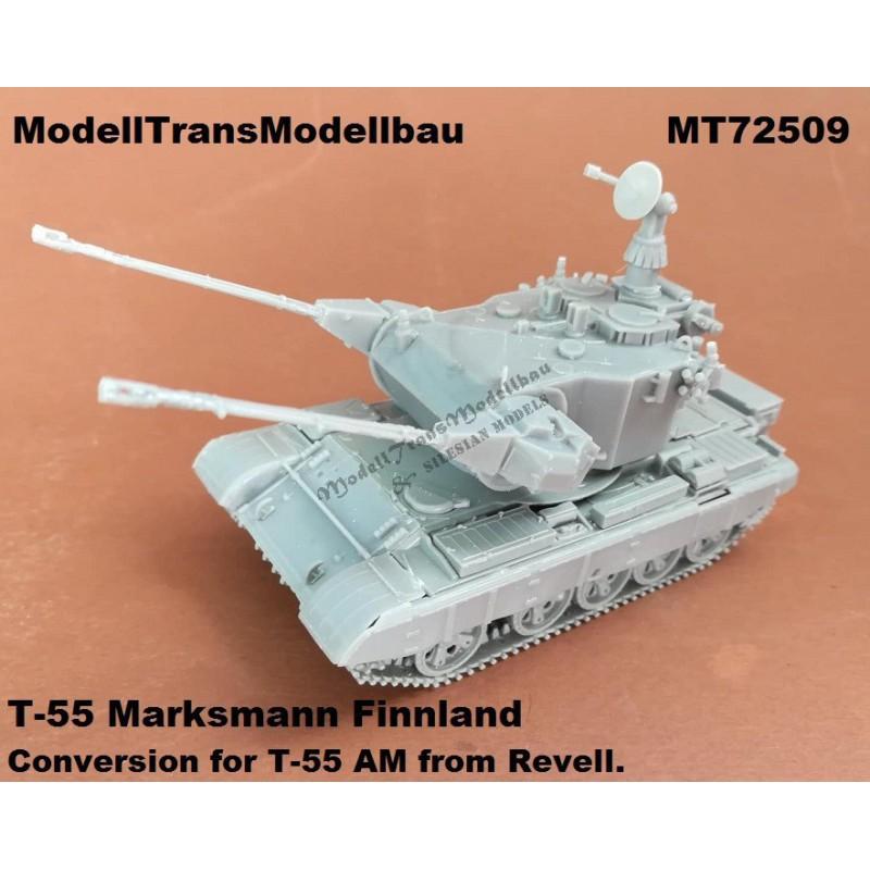 Marksmann AA turret. Finnland T-55.