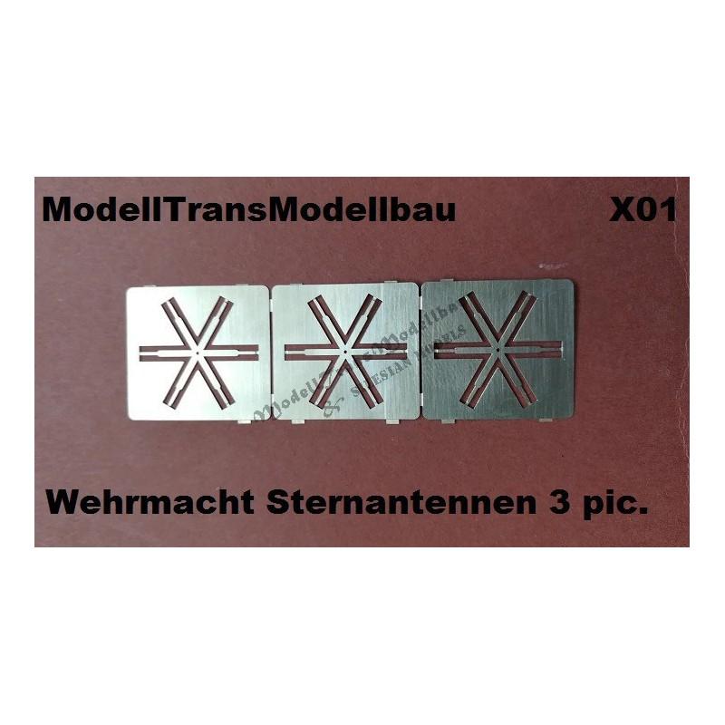 Wehrmacht Sternantennen.