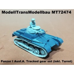 Panzer I Ausf.A. Tracked gear set (inkl. Turret)