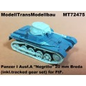 "Panzer I Ausf.A ""Negrillo"" 20 mm Breda (inkl.tracked gear set"