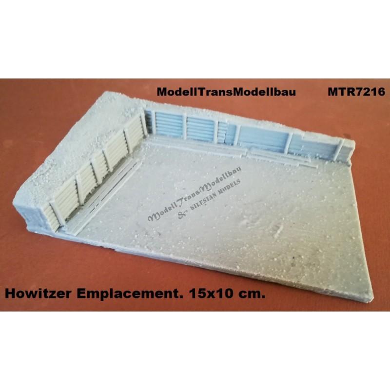 Howitzer Emplacement. 15x10 cm.