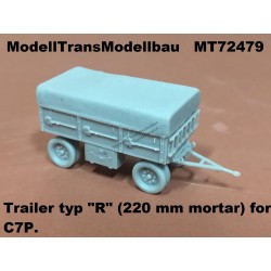 "Trailer typ ""R"" (220 mm mortar) for C7P"