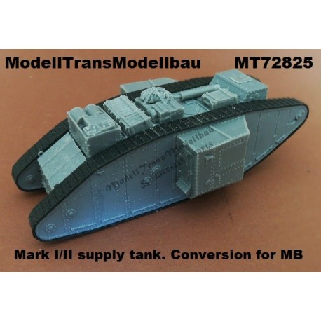 Mark I/II supply tank. Conversion for Master Box