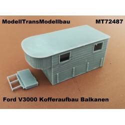 Ford V3000 Kofferaufbau. Balkanen. Conversion for IBG.