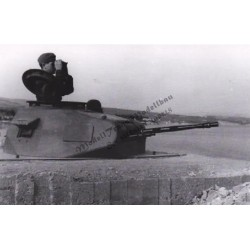Tobruk Ringstand with Pz. II turret.