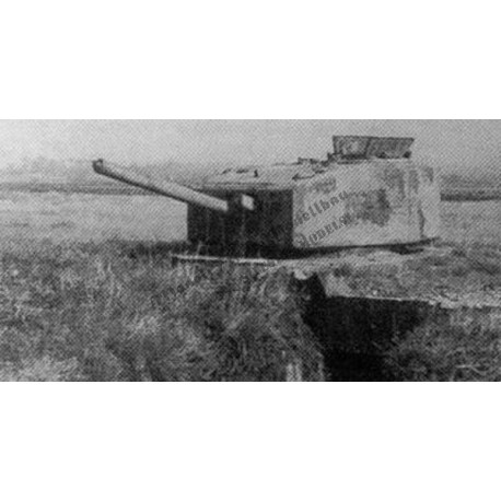 Tobruk Ringstand with Churchill turret.