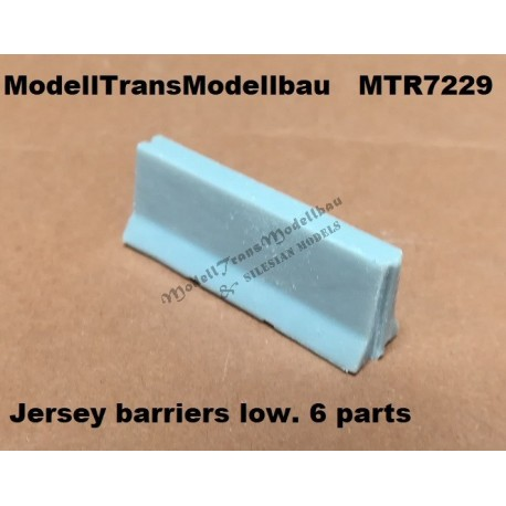 Jersey barriers low. (6 parts)