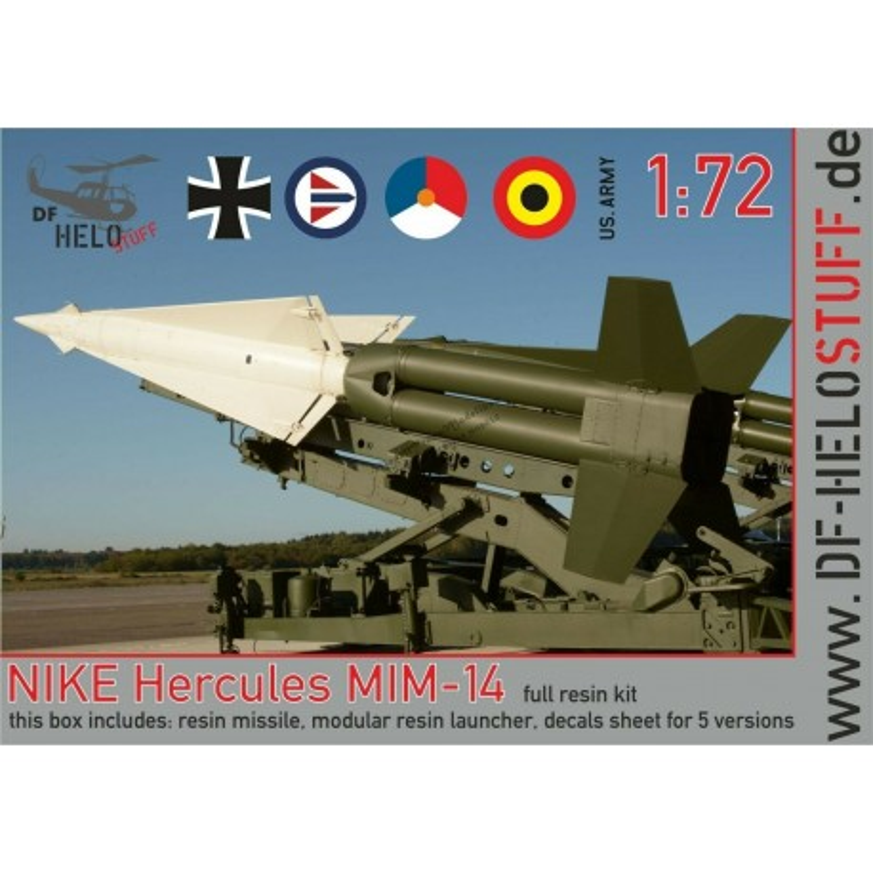 Nike Hercules MIM-14 Missile + Launcher