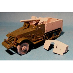 M3 75 mm Gun Motor Carriage (early/late). Conversion for Academy.