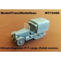 Citroen Kegresse P17 cargo. Polish version.