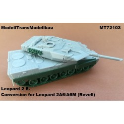 Leopard 2 E. Conversion for Leopard 2A6/A6M (Revell)