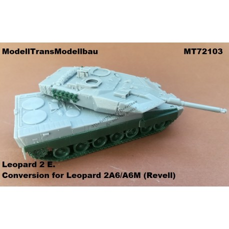 Leopard 2 E. Conversion for Leopard 2A6/A6M (Revell)