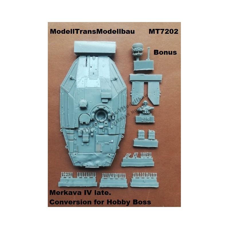 Merkava IV late. Conversion for Hobby Boss.