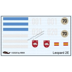 Leopard 2E decals
