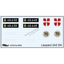 Leopard 2A5DK decals