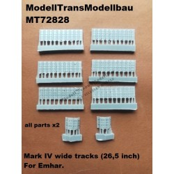 Mark IV wide tracks (26,5 inch).