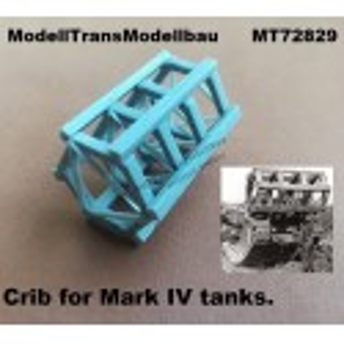 Crib for Mark IV tanks.