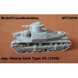 Jap. Heavy tank Type 95 (1935)