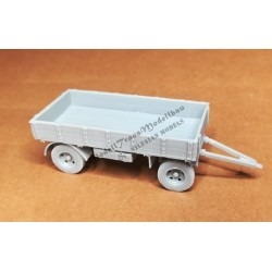 Jap. 1,5 tons trailer for cargo tracks