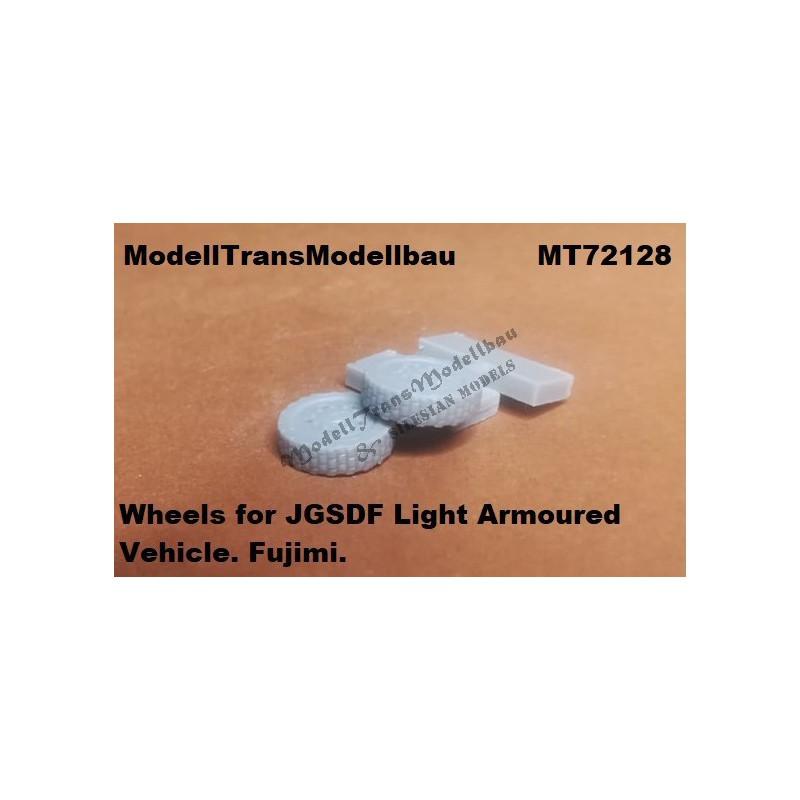Wheels for JGSDF Light Armoured Vehicle