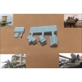 """Saphir"" system & laser range finder. Syrian army."