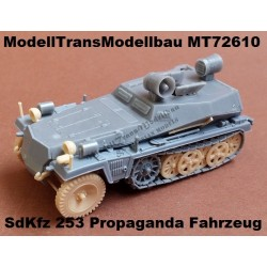 SdKfz 253 Propaganda Fahrzeug (with loudspeaker)