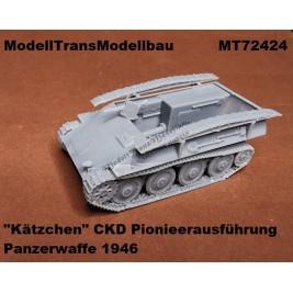 """Kätzchen"" Pionieerausführung. Panzerwaffe'46."