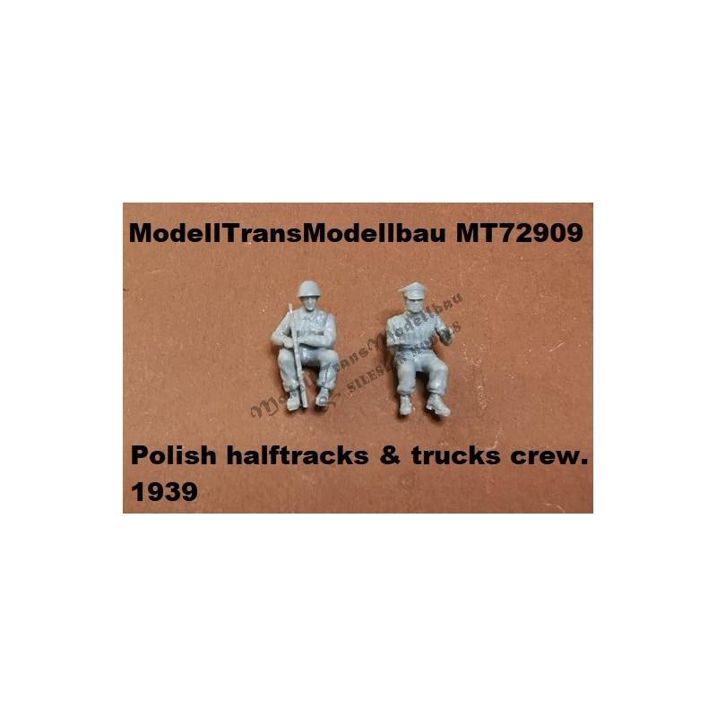 Polish crew for trucks and halftracks 1939