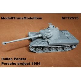 """Indien Panzer"" Porsche project 1954."