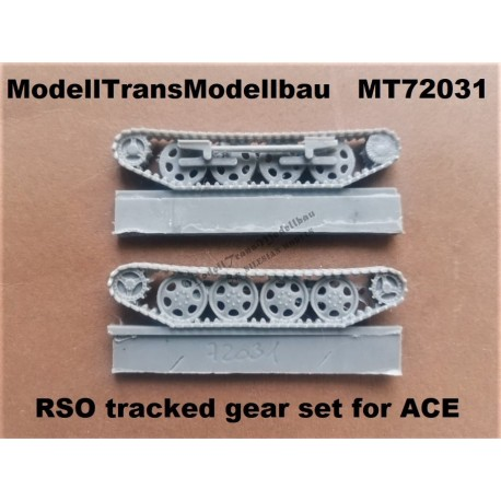 RSO tracked gear set for ACE