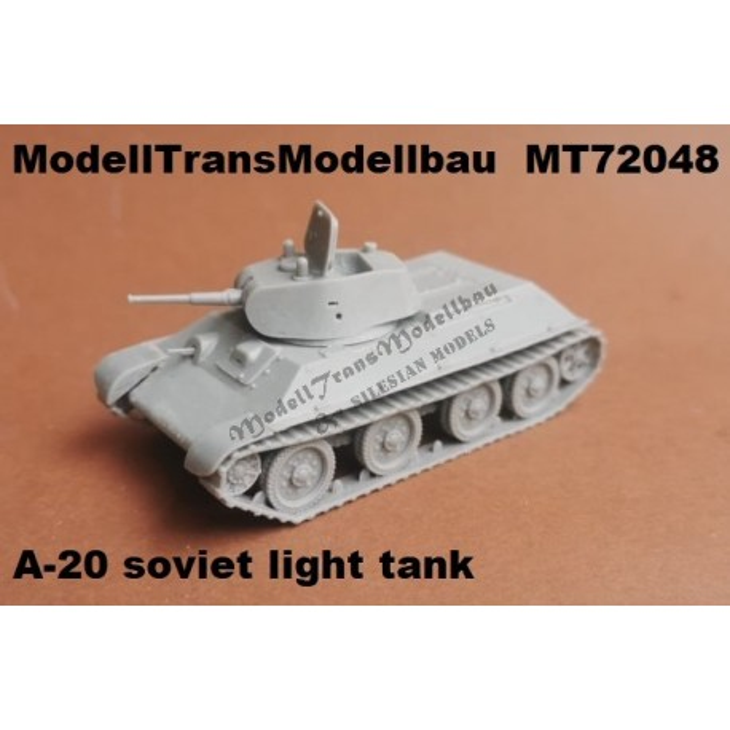 A-20 soviet light tank
