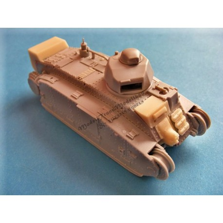 Flammweferpanzer B2(f). Conversion for Trumpeter.