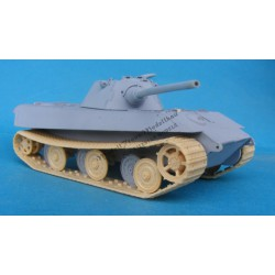 E-50 Entwicklungspanzer. Conversion for Tiger II Revell.