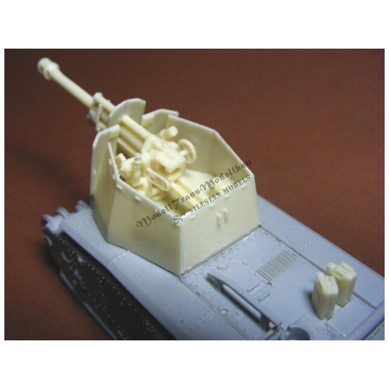 10,5 cm lFH auf Geschützwagen Char B-1(f).