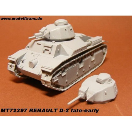 Renault D-2 (late & early)