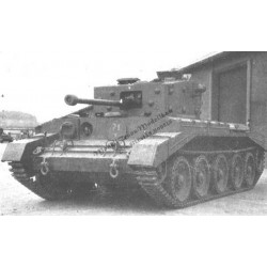 "Cruiser tank A24 ""Cavalier"". 2 variants."