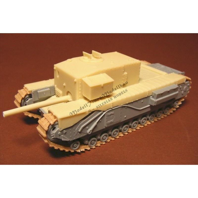 """""""Churchill Gun Carrier"""" 3-inch howizer."""